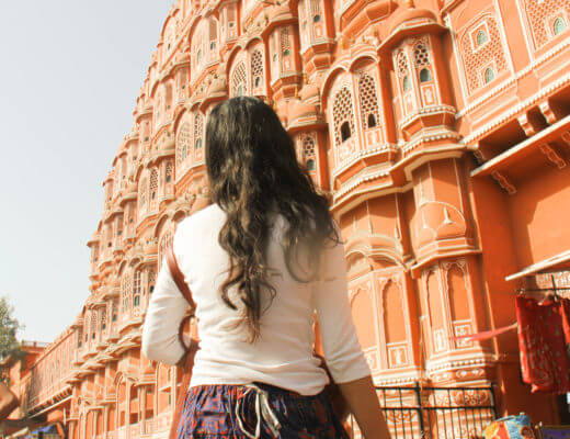 traveling solo in India