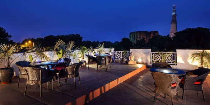 romantic restaurants in Delhi