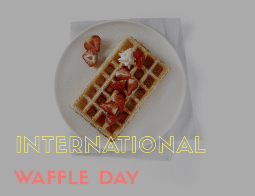 Internationa Waffle Day
