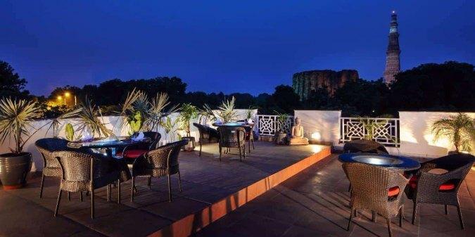 romantic restaurants in Delhi